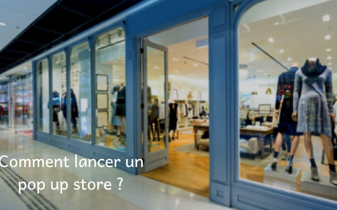 lancement popup store