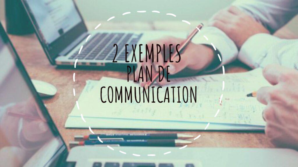 plan de communcation