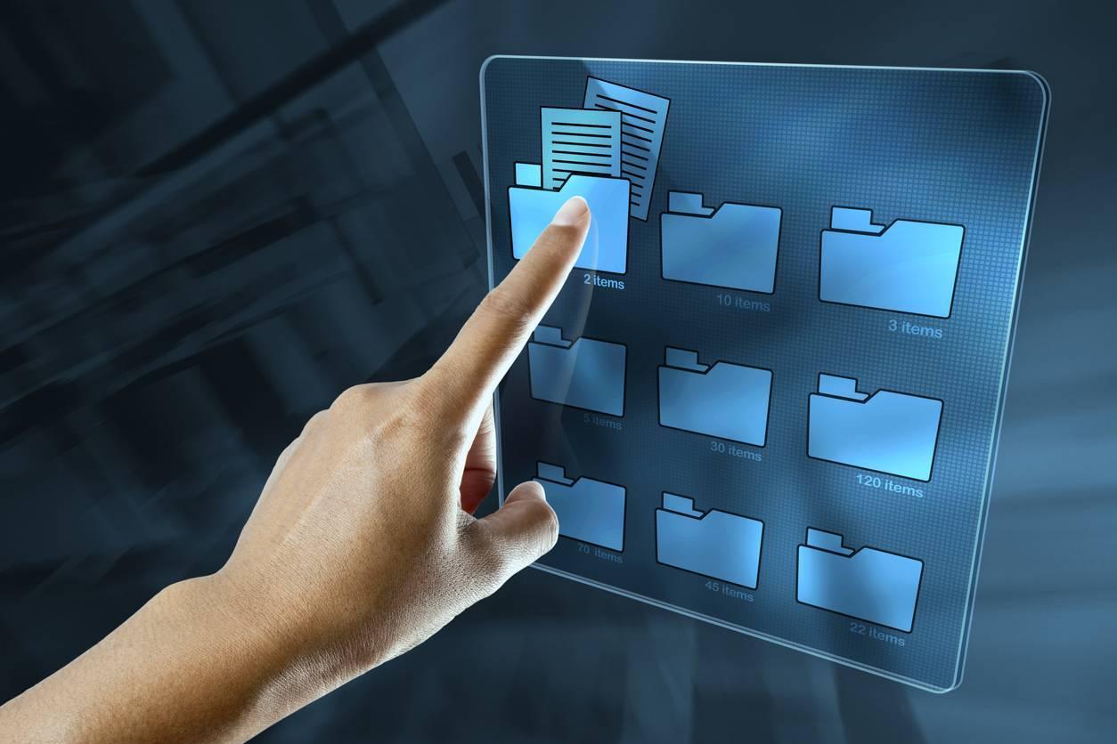 relier bureau et télétravail, écran interactif