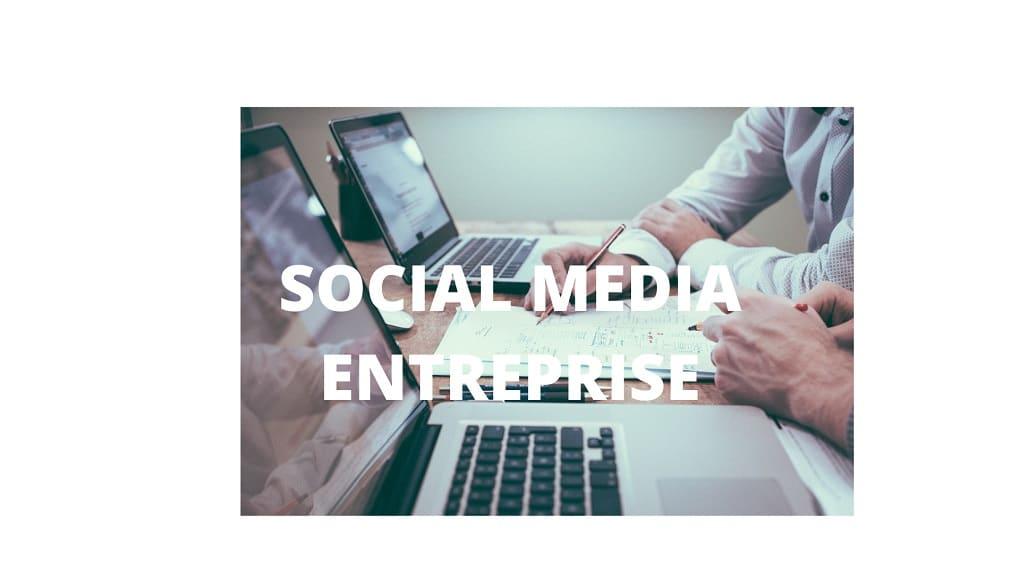 social media entreprise