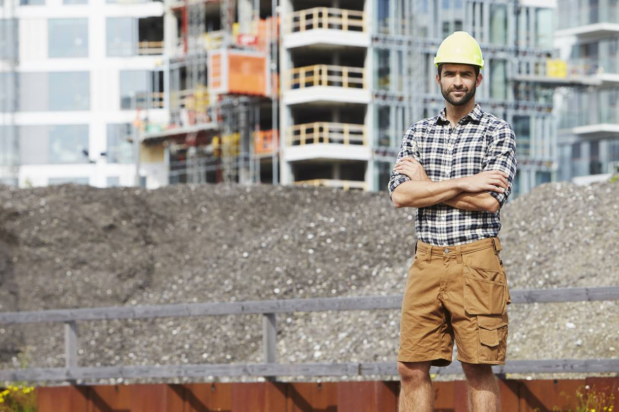 vêtements professionnels short chantier