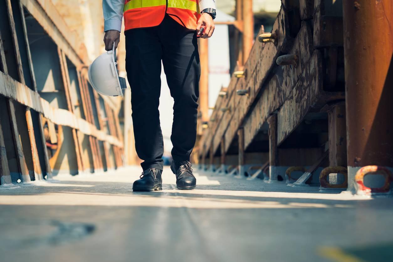 vêtements professionnels chaussures de sécurité chantier